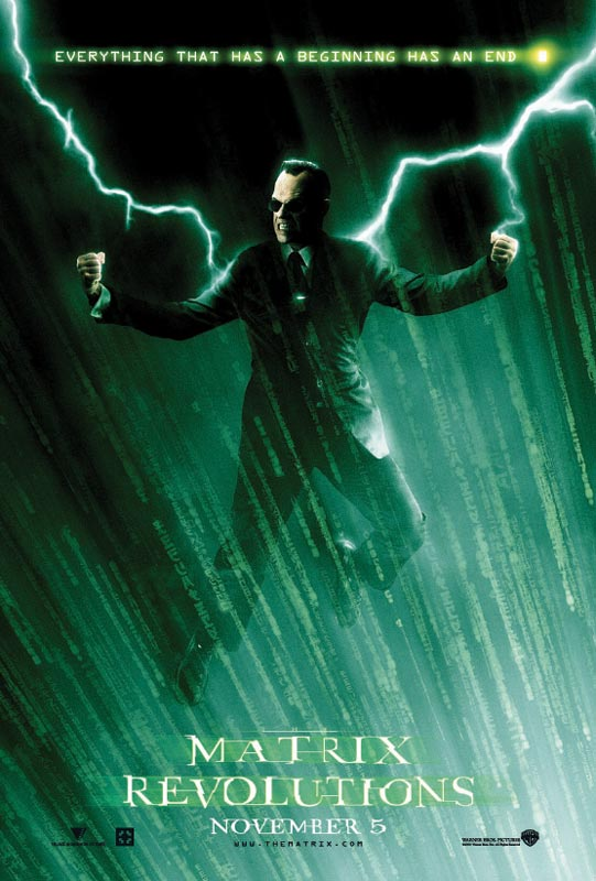 "poster for ""Matrix Revolutions , The&quot"