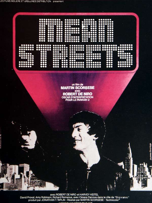 "poster for ""Mean Streets&quot"