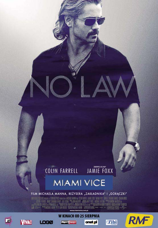 "poster for ""Miami Vice&quot"