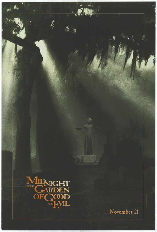 "poster for ""Midnight in the Garden of Good and Evil&quot"