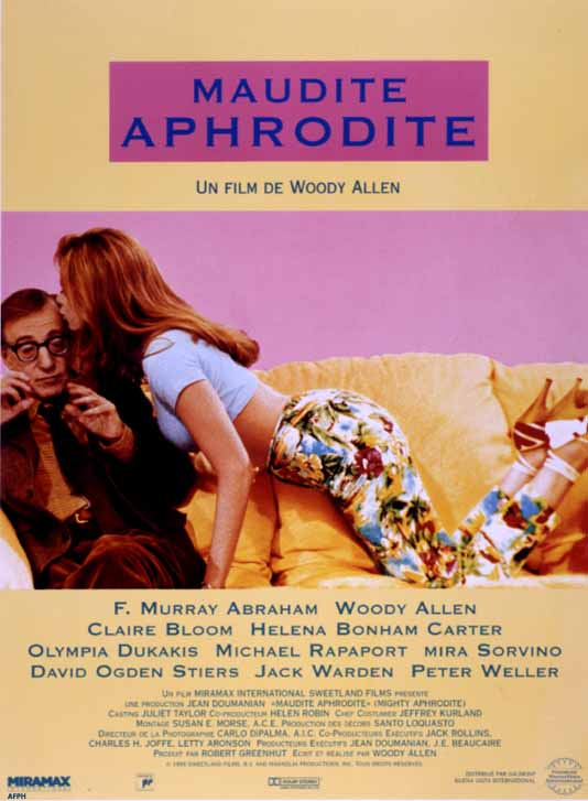 "poster for ""Mighty Aphrodite&quot"