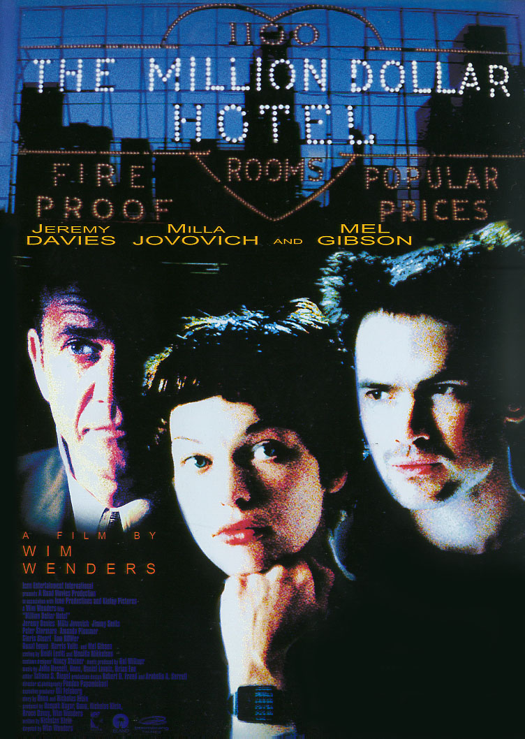 "poster for ""Million Dollar Hotel, The"" by Wim Wenders(2000)"