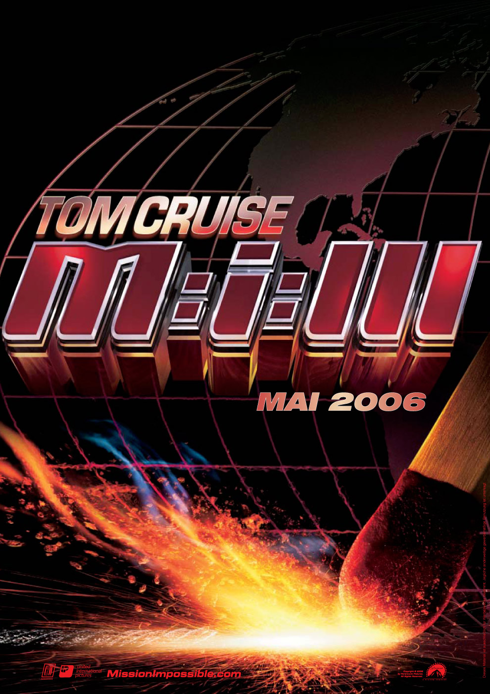 "poster for ""Mission Impossible III&quot"