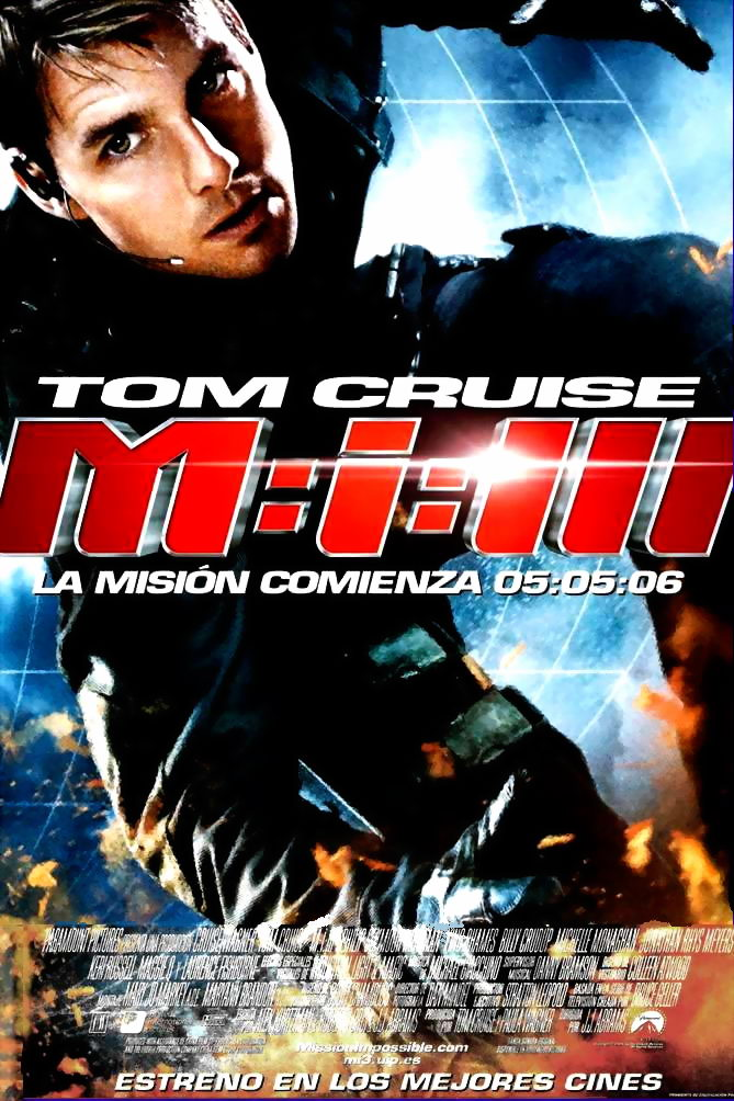 "poster for ""Mission Impossible III"""