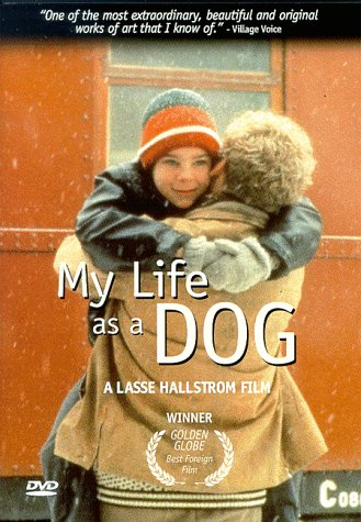 "poster for ""Mitt Liv Som Hund (My Life as a Dog)"" by Lasse Hallstr�m(1985)"