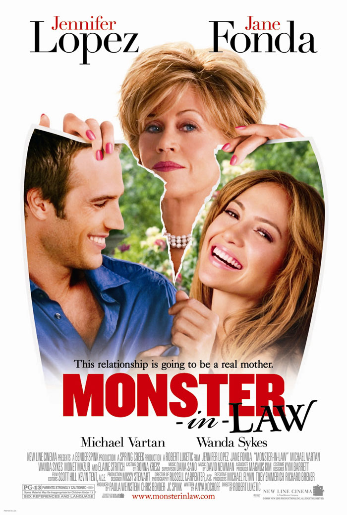 "poster for ""Monster-in-Law"" by Robert Luketic (2005)"