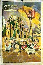 "poster for ""Monty Python's Meaning of Life&quot"