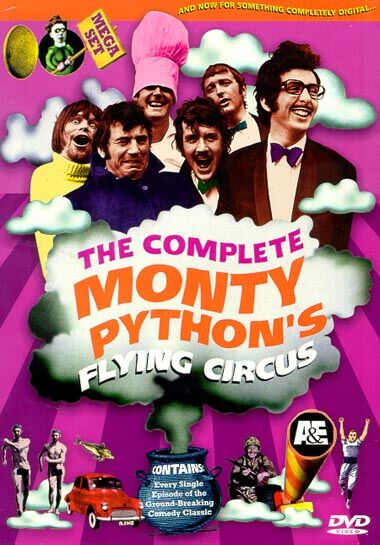 "poster for ""Monty Python's Flying Circus"" by John Howard Davies 