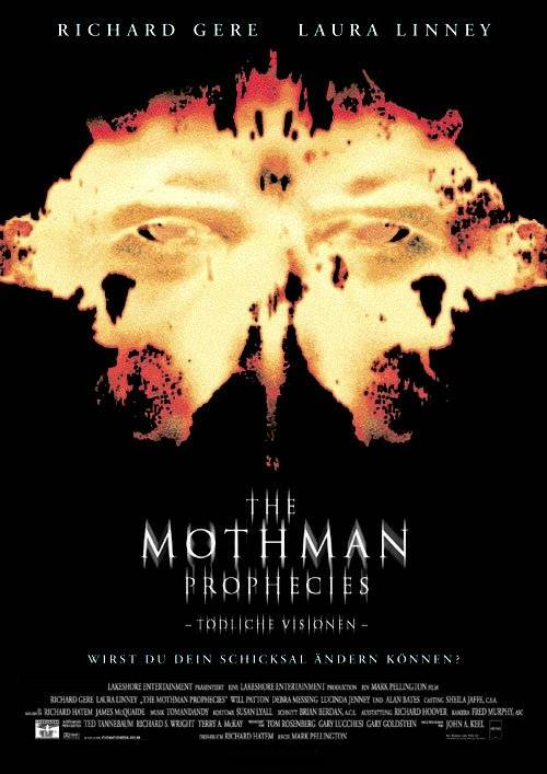"poster for ""Mothman Prophecies, The"" by Mark Pellington (2002)"