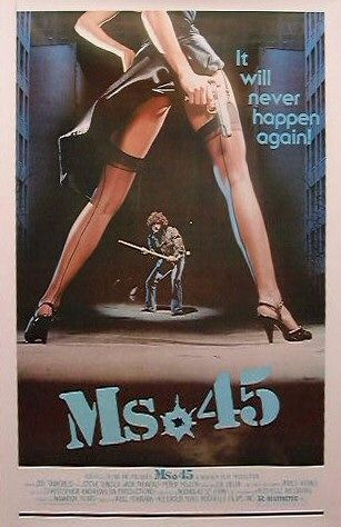 "poster for ""Ms.45"" by Abel Ferrara(1981)"