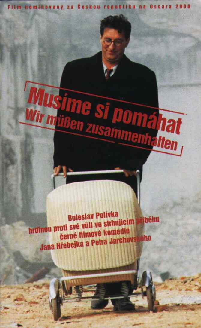 "poster for ""Musime Si Pomahat"" by Jan Hrebejk (2000)"