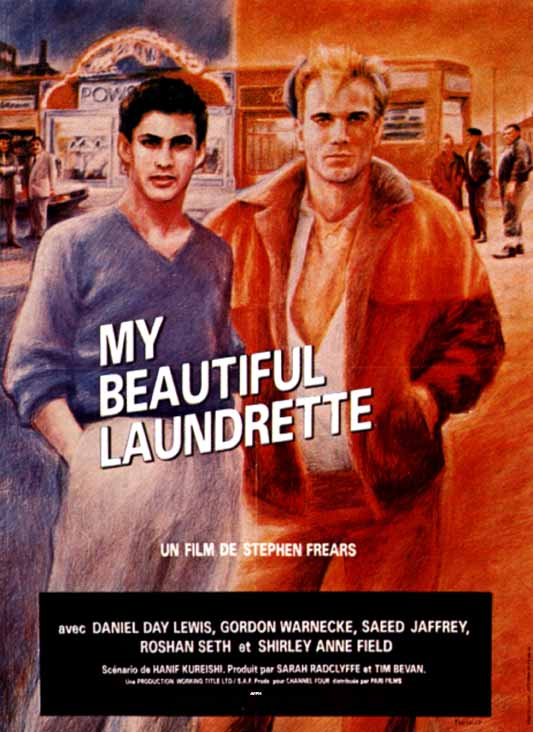 "poster for ""My Beautiful Laundrette"" by Stephen Frears(1985)"
