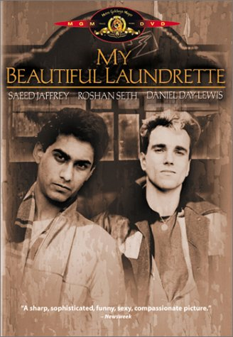 "poster for ""My Beautiful Laundrette"""