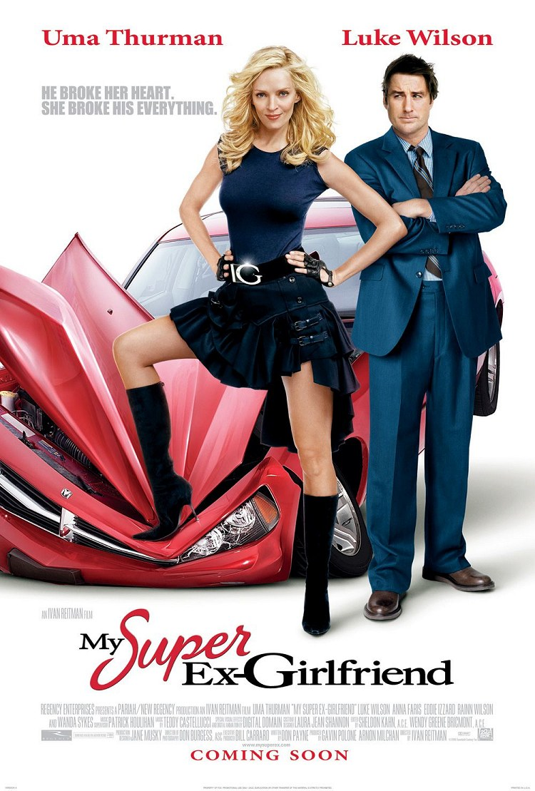 "poster for ""My Super Ex Girlfriend"" by Ivan Reitman(2006)"