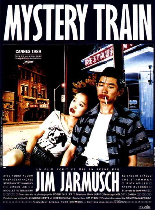 "poster for ""Mystery Train"" by Jim Jarmusch(1989)"