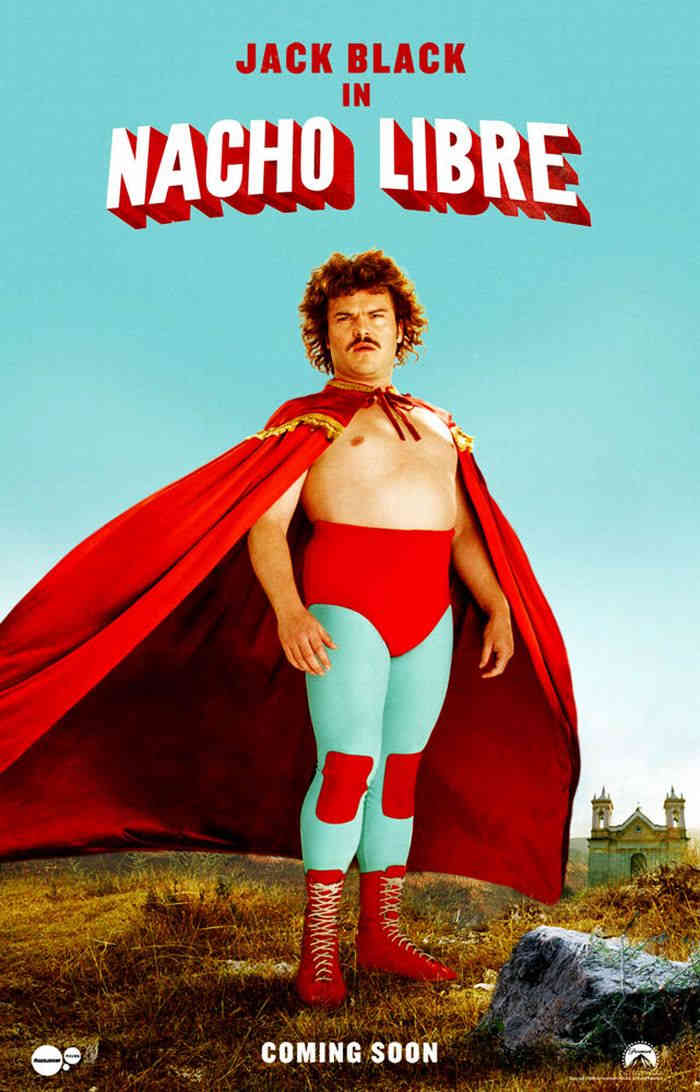 "poster for ""Nacho Libre&quot"
