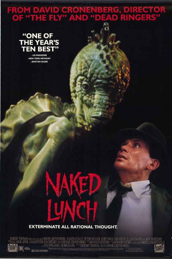"poster for ""Naked Lunch&quot"