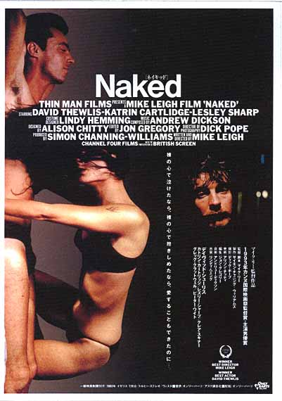 "poster for ""Naked&quot"