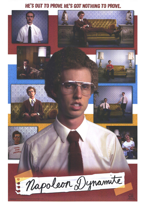 "poster for ""Napoleon Dynamite&quot"