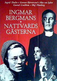 "poster for ""Nattvardsg�sterna (Winter Light)&quot"
