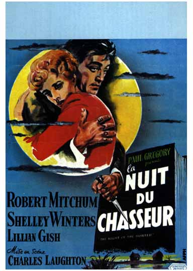 "poster for ""Night of the Hunter, The&quot"