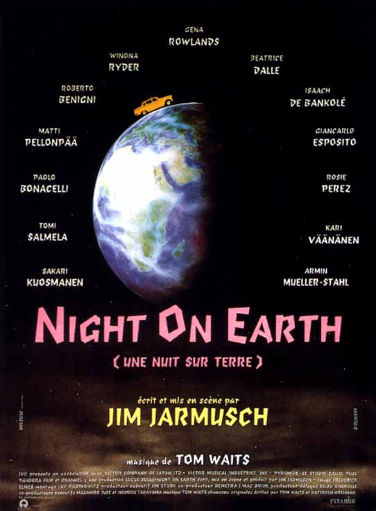 "poster for ""Night on Earth"" by Jim Jarmusch (1991)"