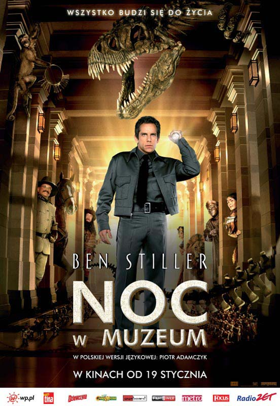 "poster for ""Night At the Museum&quot"