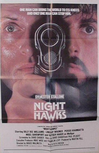 "poster for ""Nighthawks&quot"