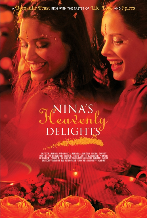 "poster for ""Nina's Heavenly Delights"" by Pratibha Parmar(2006)"