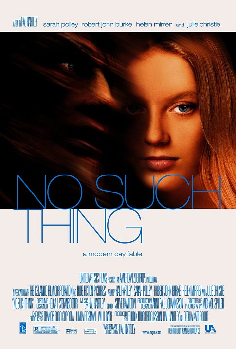 "poster for ""No Such Thing"" by Hal Hartley (2001)"