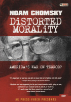 "poster for ""Noam Chomsky - Distorted Morality"""