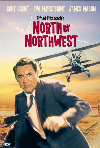 "poster for ""North By Northwest&quot"