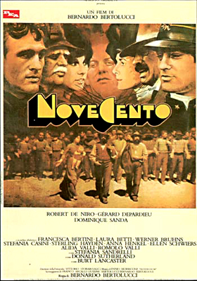 "poster for ""Novecento&quot"