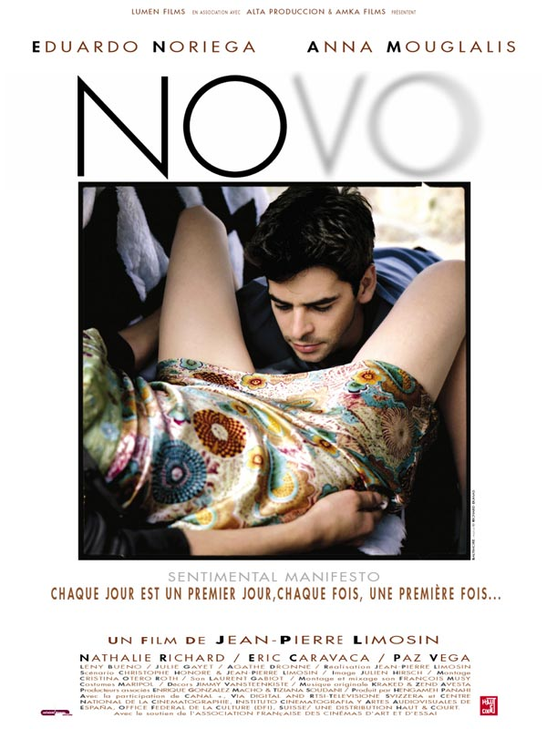 "poster for ""Novo"" by Jean-Pierre Limosin (2002)"