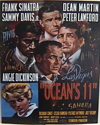 "poster for ""Ocean's Eleven&quot"
