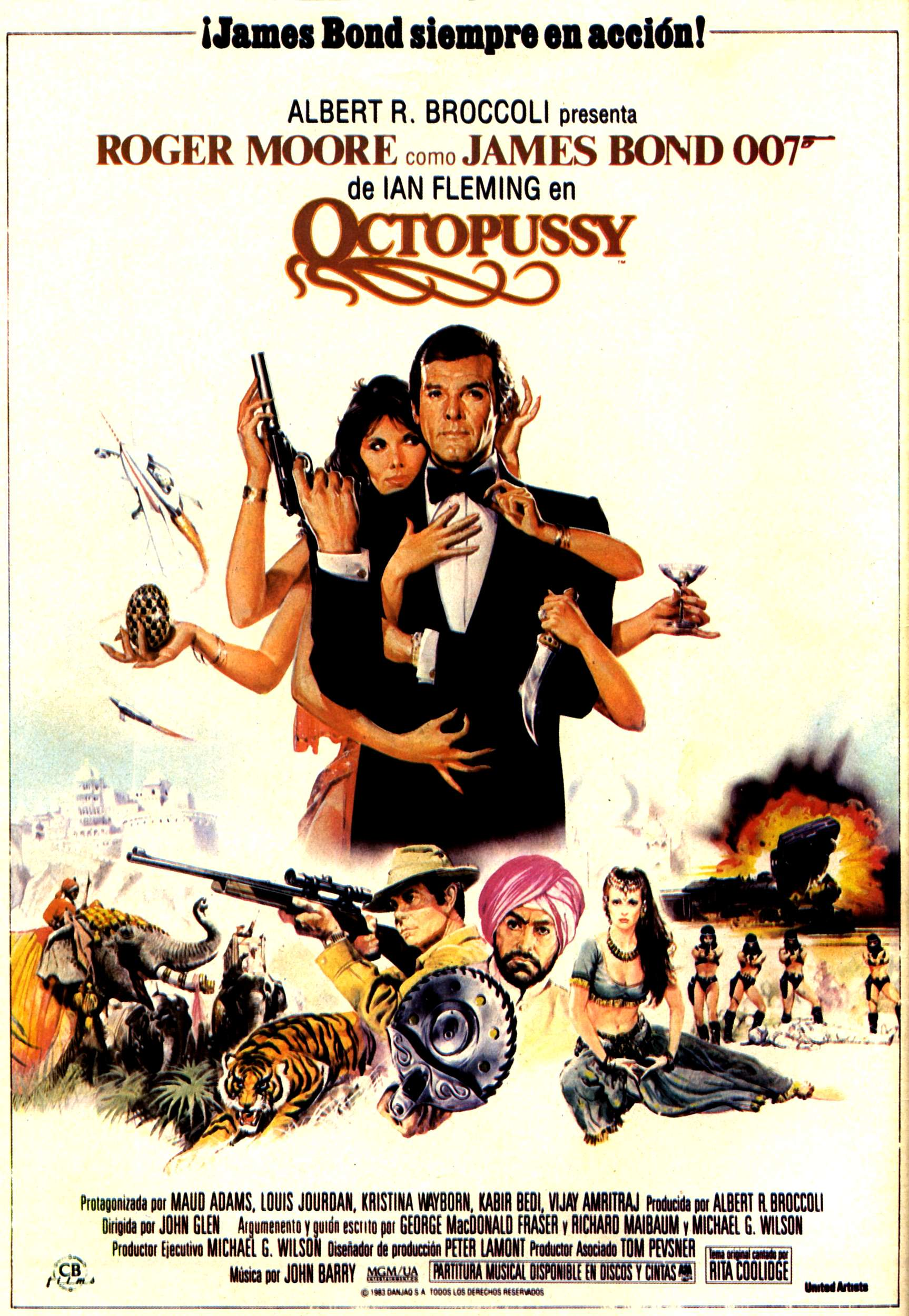 "poster for ""Octopussy&quot"
