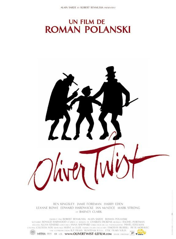 "poster for ""Oliver Twist"" by Roman, Polanski(2005)"