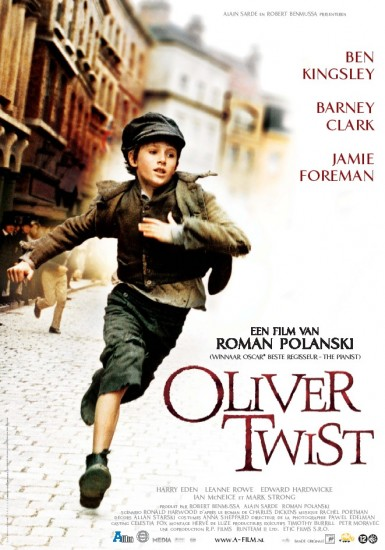 "poster for ""Oliver Twist&quot"