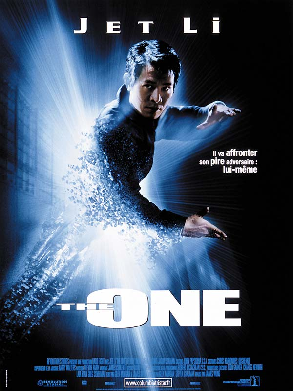 "poster for ""One, The"" by James Wong(2001)"