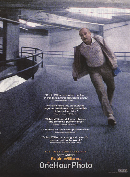 "poster for ""One Hour Photo&quot"