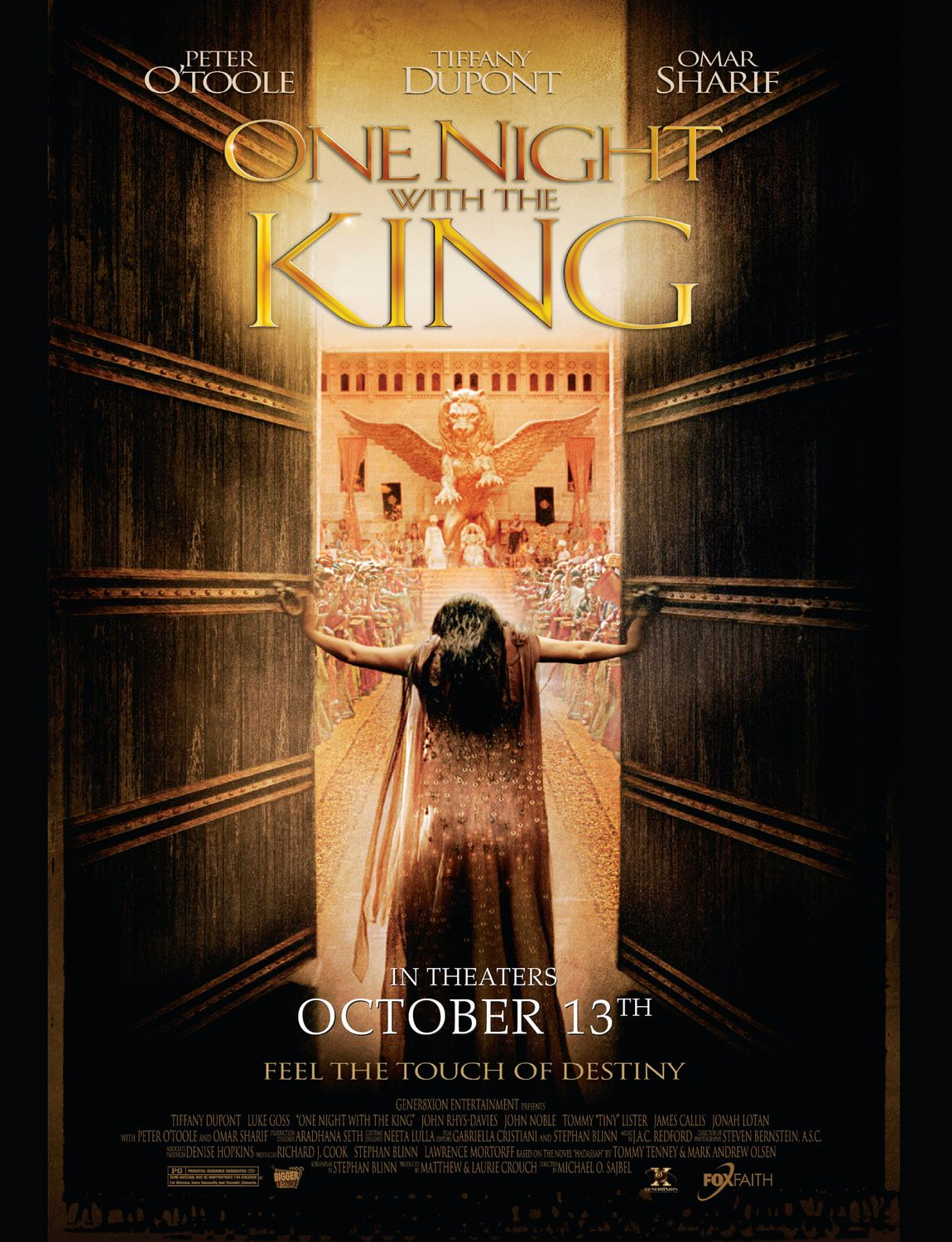 "poster for ""One Night With the King"" by Michael O. Sajbel(2006)"