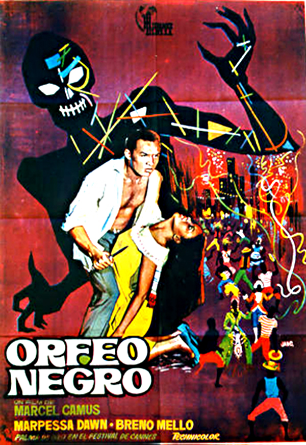 "poster for ""Orfeu Negro"" by Marcel Camus(1959)"