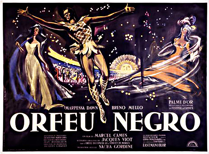"poster for ""Orfeu Negro"""