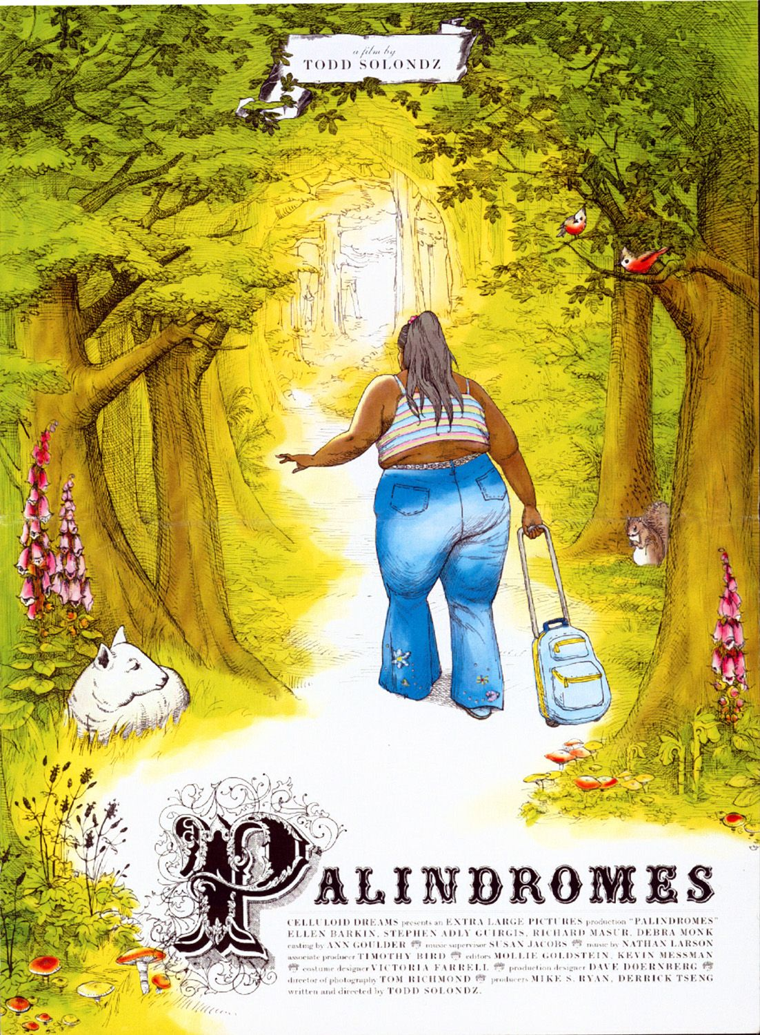 "poster for ""Palindromes"" by Todd Solondz (2004)"
