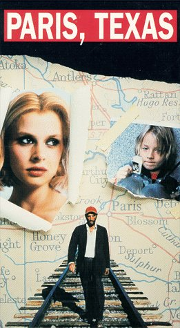 "poster for ""Paris, Texas"""