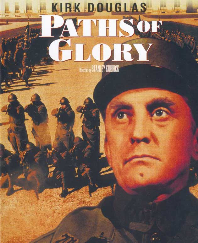 "poster for ""Paths of Glory"" by Stanley Kubrick(1957)"