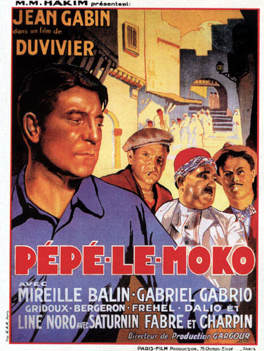 "poster for ""P�p� le Moko&quot"