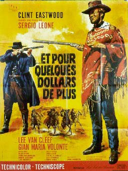 "poster for ""Per qualche dollaro in pi� (For a Few Dollars More)&quot"
