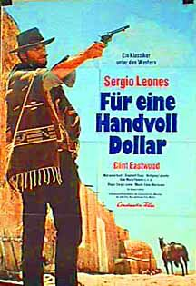 "poster for ""Per un Pugno di dollari (A fistfull of Dollars)&quot"