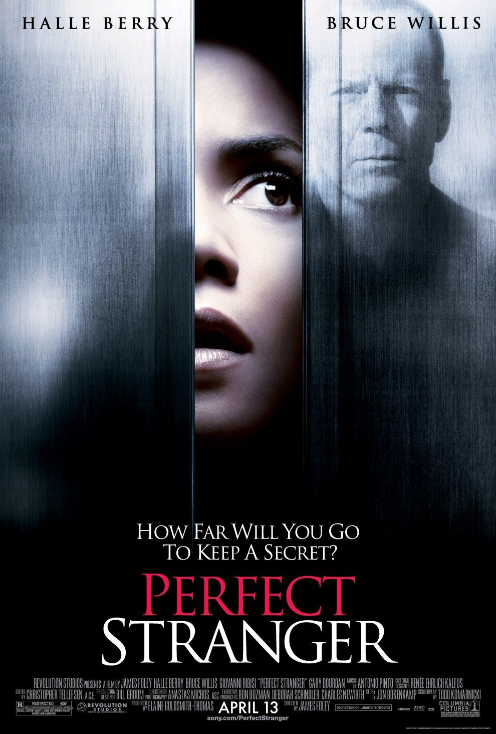 "poster for ""Perfect Stranger"" by James Foley (2007)"